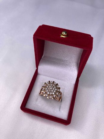 Продается золотое кольцо, 585 пробы, город Шымкент