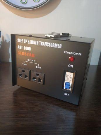 Трансформатор понижающий с 220V/240V на 110V/120V, Мощность разная