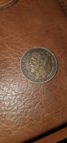 Moneda 1 leu an 1914