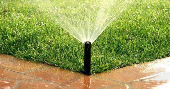 Поливни системи, озеленяване.Поддръжка на градини.