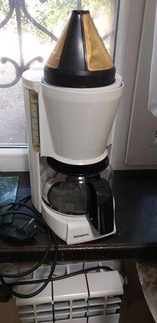 """продам кофеварку капельного типа  """"Siemens"""" с золотым  ситечком"""