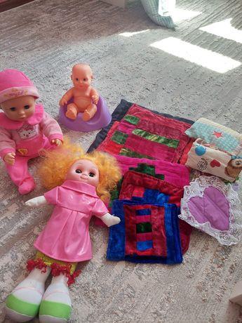 Продам куклы хорошего качества с корпешками и подушками