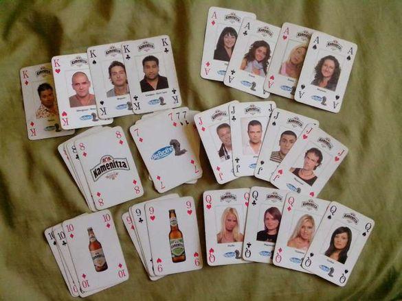 Карти за игра с участниците от Big Bfother 2