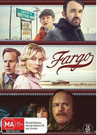 Film Serial Fargo DVD Seasons 1-3 Complete Collection. Originale