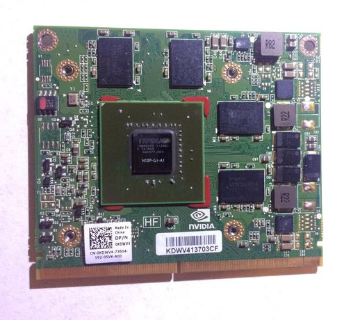 Placa video laptop Nvidia Quadro 1000m N12p-q1-a1 2GB