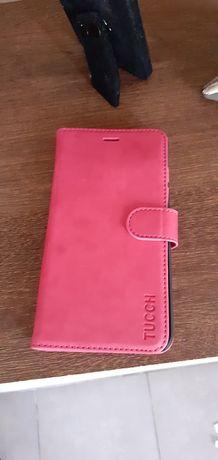 Husa telefon tip carte Tucch ptr Apple Iphone 7 plus,8 plus pink/roz