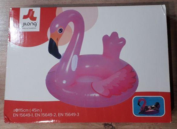Фламинго надуваемо Ф115 см.
