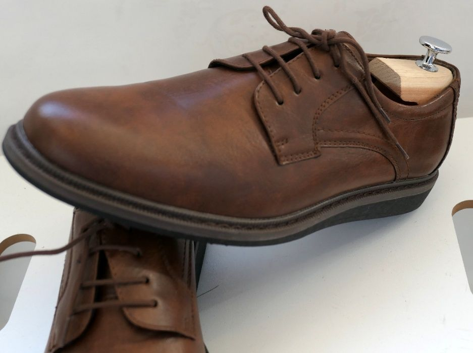 Pantofi derby Venturini 41 piele naturala