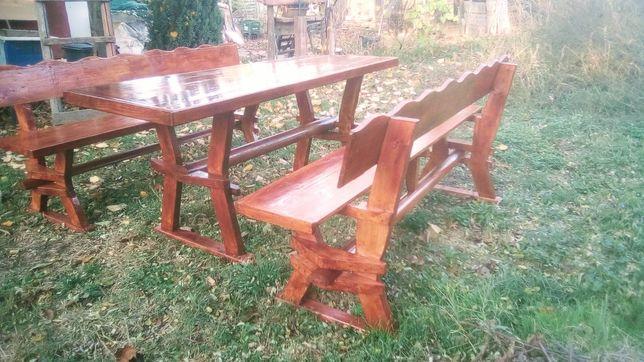 Masă cu băncute lemn