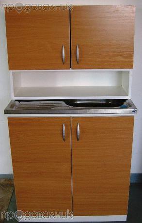 Шкаф + мивка + горен ред