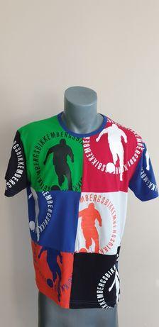 Dirk Bikkembergs Stretch Mens Size 50 - L ОРИГИНАЛ! Мъжка Тениска!
