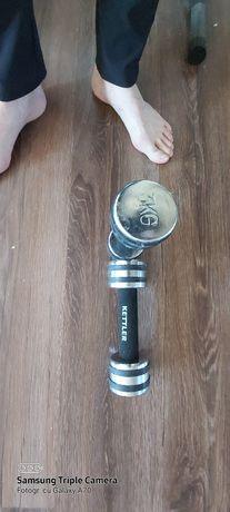 vand gantere haltere biceps Kettler
