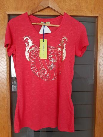 Ефектна дамска тениска VERSACE JEANS, размер S/M.НОВА!Оригинал!