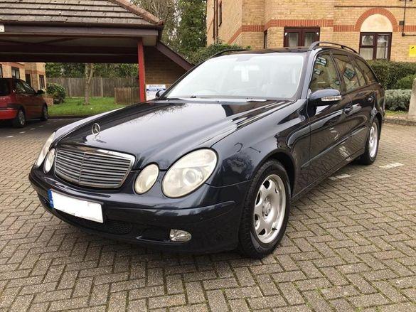 Мерцедес В211 Е320цди 204 коня/Mercedes W211 E320cdi OM648