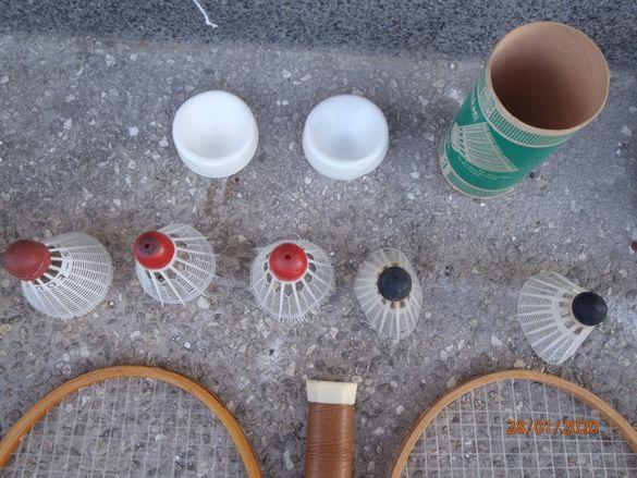 ФЕДЕРБАЛ - перца с кутия – нови и Ракети за тенис на маса с топчета.