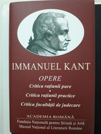 KANT - OPERE (3 în 1): Critica Rațiunii Pure/Practice/De Judecare