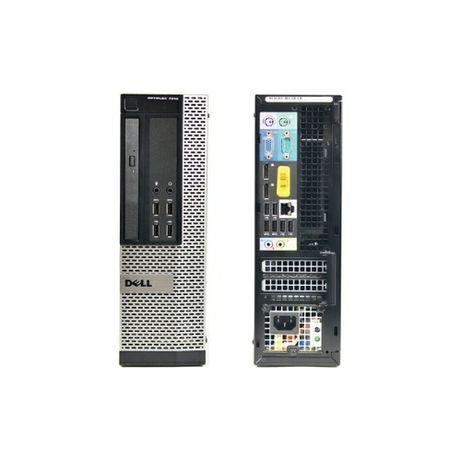Mini PC / SSF DELL, Intel i3-4160, 8GB RAM, 256GB SSD, 500GB HDD, W10P