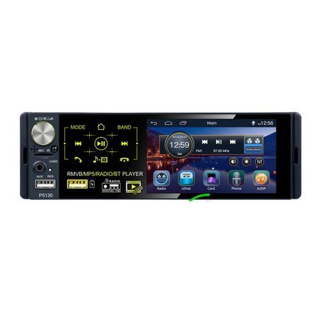 Mp5 Radio auto 1 din, touchscreen Full Digital, bluetooth Transport 0