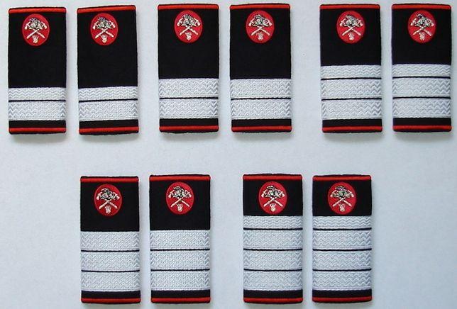 Grade brodate Pompieri, Jandarmi, SMURD