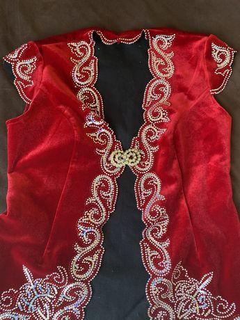 Казахский жакет на Узату