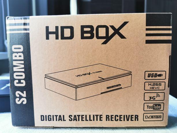 Спутниковый /эфирный ресивер HD BOX S2 combo