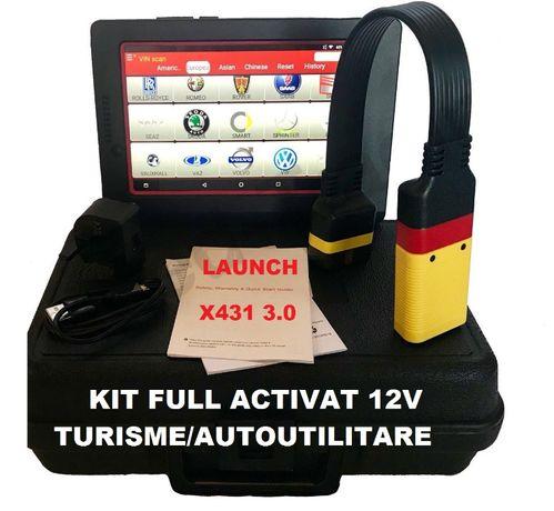 "Tester auto Easydiag X431 Pro3S + Tableta Noua Android 10.1"" PROMO"
