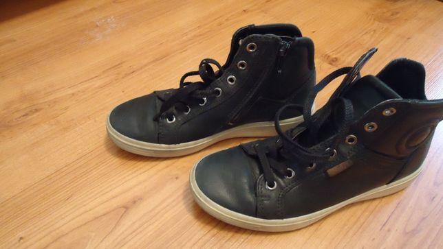 Кожаные ботинки фирма ЕССО для девочек