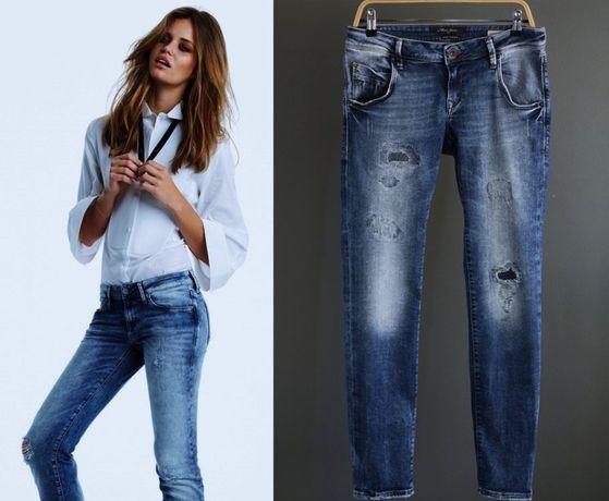 blugi elastici Noi , cu 'rupturi', de la ONLY Jeans - 145 lei
