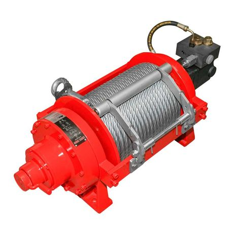 Troliu hidraulic 20000lb/9072Kg 17,5MPa 130 PSI cablu otel