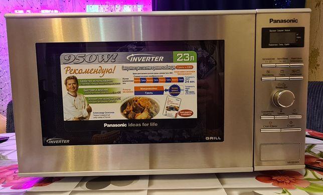 Продам микроволновую печь с грилем Panasonic  NN-GD392S