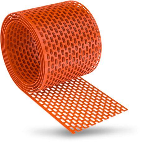 Bandă ventilatie (protectie) streașină PVC