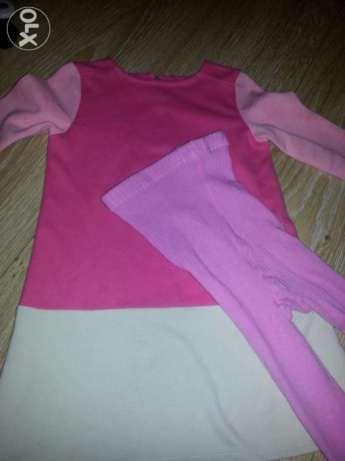 Rochie BabyGap+dres 3-5 ani