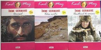 Inimi germane Karl May 3 volume