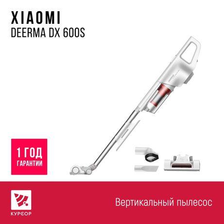 Вертикальный пылесос Xiaomi Deerma DX600S, 1 год гарантия/КУРСОР