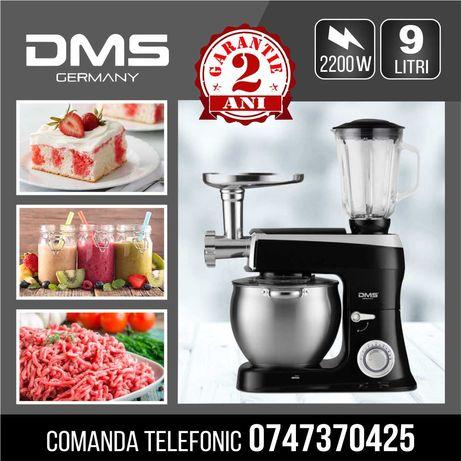 Robot de bucătărie 3 în 1 DMS Germania 2200W, 9L negru-Garantie :2 ani