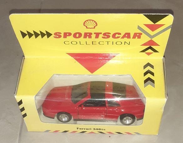 Продавам количка Ferrari 348 ts, мащаб 1/38