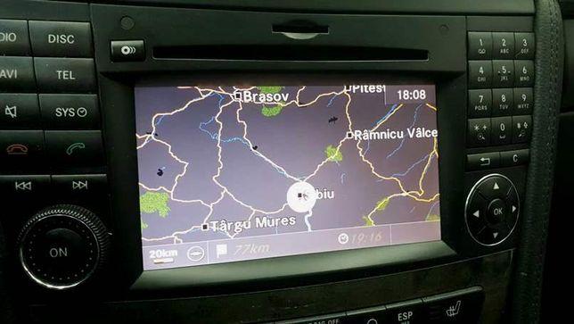 Harta navigatie Mercedes NTG 2.5 A B CLS E G M Europa Romania 2019