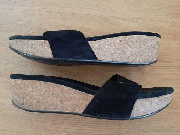 saboti ugg australia 40 piele pluta platforma sandale