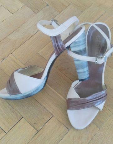 """""""Gabina"""" - дамски сандали от естествена кожа"""