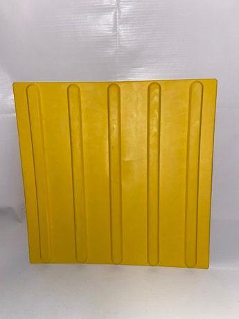 Тактильные плиты резиновые