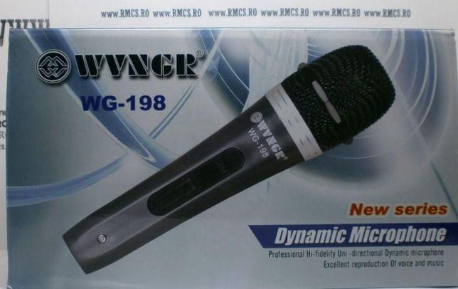 Microfon profesional WG-196 cu fir