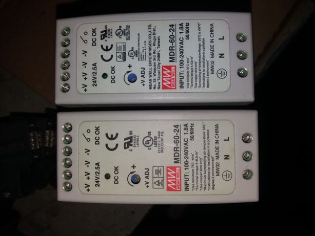 Блок питания импульсный Mean Well MDR-60-24, 24VAC 2.5A