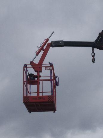 Вишка/работна платформа 28-29м до 300кг
