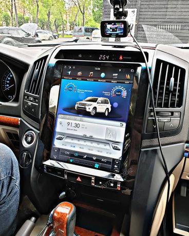 Автомагнитола Андроид Тесла Tesla Toyota/Subaru/Mitsubishi DSK/RedPowe