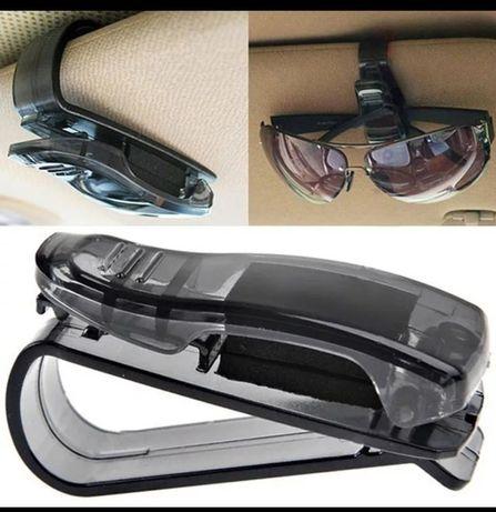 Suport ochelari/card/acte parasolar auto