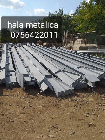 Vand hală metalica 13,90m×40m×5m structura metalica