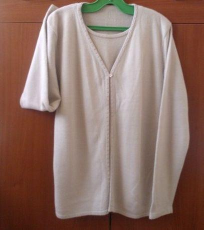 Нова жилетка с имитация на блуза, ръст 165-170см.