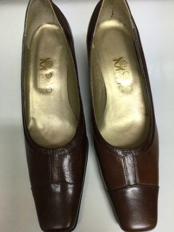 Pantofi de piele dama, marimea 37, NEPURTATI