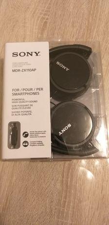 Casti Sony cu fir si microfon