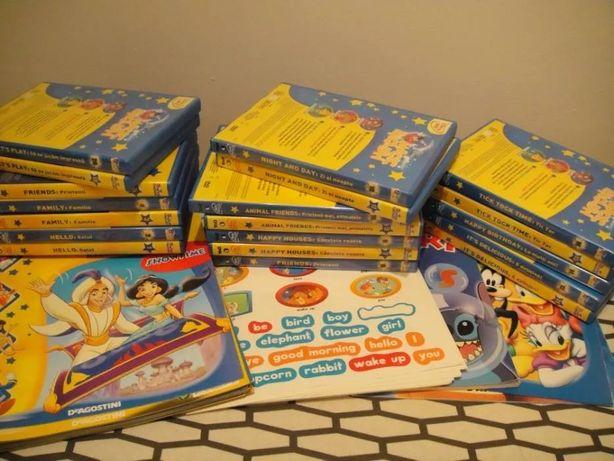 19 DVD-uri Magic English+Reviste+Coli Stickere+Album,130 lei!
